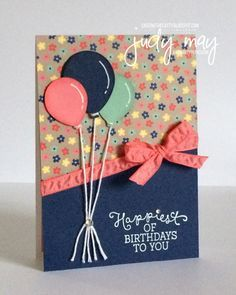 StampinUp Affectionately Yours DSP For CASE Ing The Catty Birthdays Happy Birthday Card