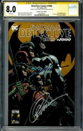 DETECTIVE COMICS 1000 CGC 9.8 VARIANT TRADE JEE HYUNG LEE HARLEY QUINN BATMAN