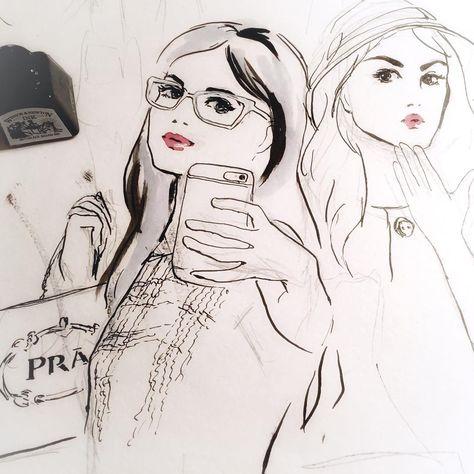fashionistas Some work in Progress! Selfie...