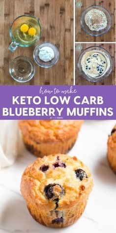 Low Carb Keto Blueberry muffins the perfect on the go Keto breakfast! Made with almond flour www.noshtastic.com  Low Carb Keto Blueberry muffins the perfect on the go Keto breakfast! Made with almond flour www.noshtastic.com