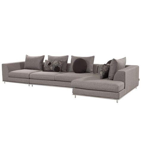 Brilliant Hanna Gray 3 Piece Modular Sofa Decorate It Modular Sofa Cjindustries Chair Design For Home Cjindustriesco