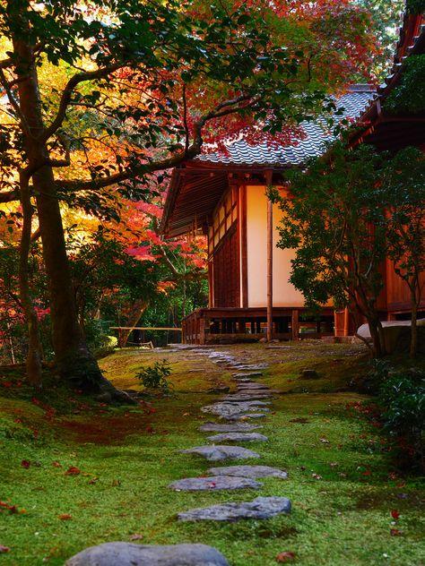 Epingle Par ぺンち Sur 庭園 Avec Images Jardin Japonais