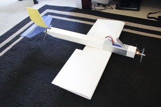 foam board rc plane plans
