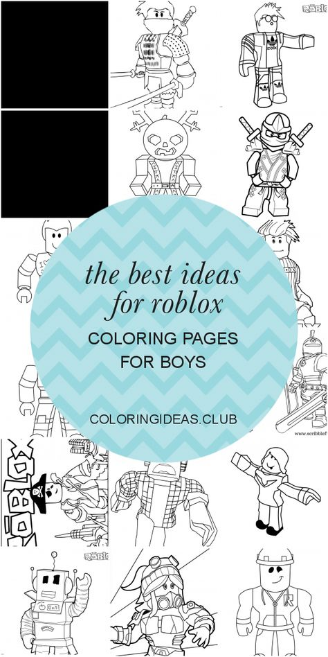 Best Ideas Regarding The Best Ideas For Roblox Coloring Pages For