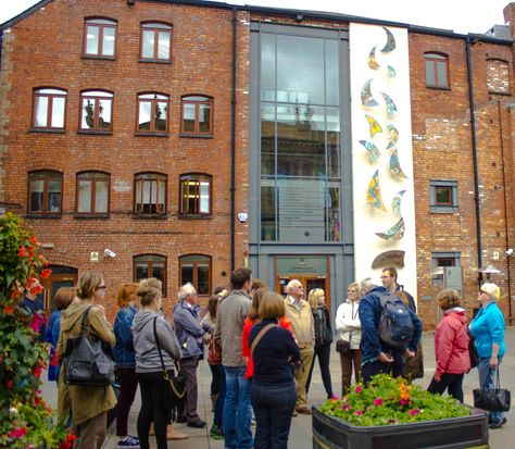 PLACE lead a walking tour of Art Deco Belfast - one of nine free tours offered as part of EHOD 2013.