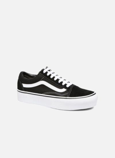 Old Skool Platform - Noir | Vans old skool, Sneakers et Sarenza
