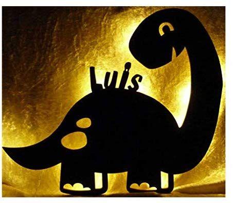 Led Dinolampe Lampe Deko Kinder Wandlampe Dino Mit Name Personalisiert Geschenke Fur Dinosaurier Kin In 2020 Dinosaurier Kinderzimmer Kinder Lampen Geschenke Mit Namen