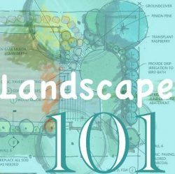 Landscaping 101; A quick course in planning your landscape-what to think about and where to find information.