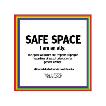 Everywhere Should Be A Safe Space I Am An Ally Safe Space Gender Identity Safe