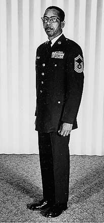 CMSGT Fred Archer (July 20, 1921 - September 1988) began his military career with the 369th Infantry of the New York National Guard, and went on active duty in 1941 with the Tuskegee Airmen as a maintenance technician with the 99th Pursuit Squadron. After the war he served at Davis-Monthan AFB as 43rd Bombardment Wing armament supervisor. He was the first African American in the Air Force to achieve the rank of Chief Master Sergeant. #TodayInBlackHistory