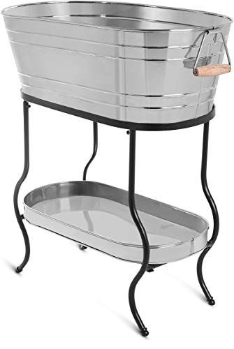 Amazing Offer On Birdrock Home Stainless Steel Beverage Tub Stand