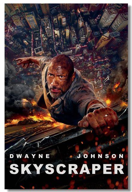 Skyscraper 2018 Hindi Dubbed Movies Dwayne Johnson Movies