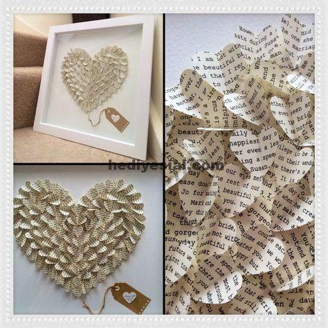 Fantastic 3D heart from a husband's speech. Perfect anniversary or even wedding ..., #heman speech #of #fantastic #wedding #Anniversary #fantastic #Heart #husband #perfect #speech #wedding