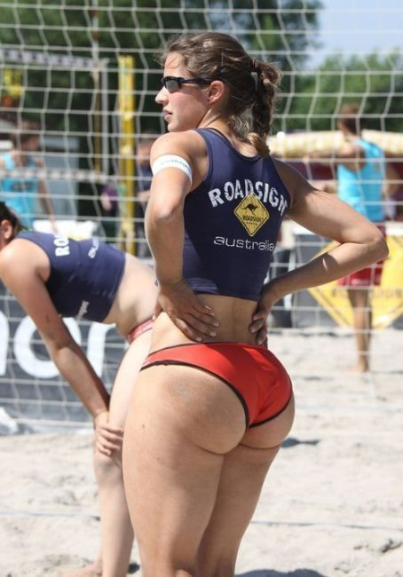 The answer sexy female athletes with big butts rare