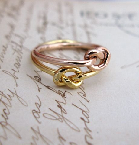 knot ring.