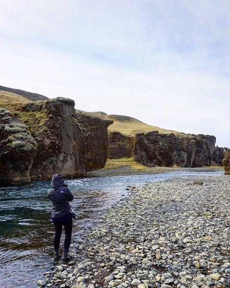Fjaðrárgljúfur Moss Canyon