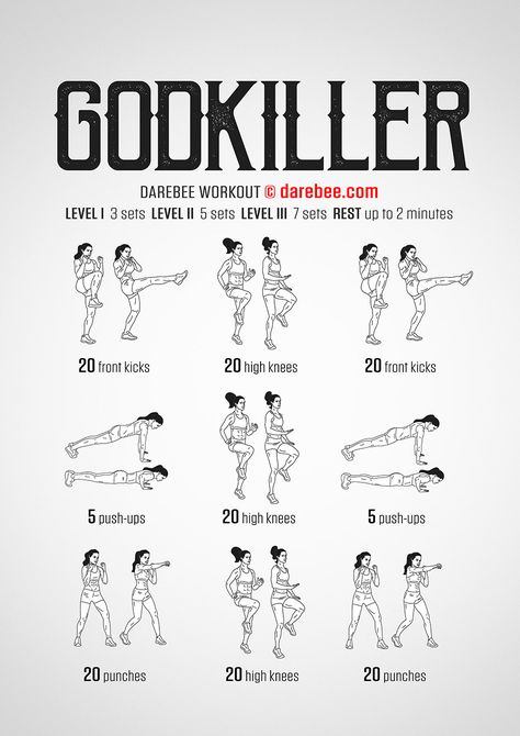 Godkiller Workout - Healty fitness home cleaning Fitness Workouts, Hero Workouts, Body Workouts, Revenge Body Workout, Neila Rey Workout, Kickboxing Workout, Calisthenics Workout, Ab Workout At Home, At Home Workouts