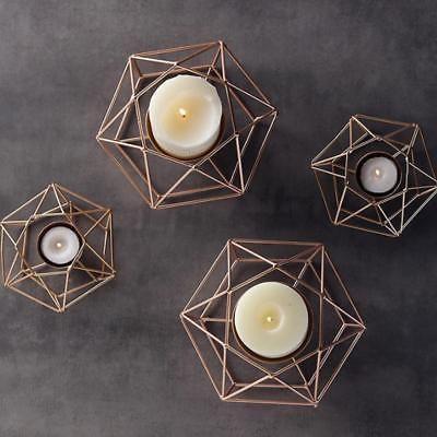b794e68181 Blesiya-6-x-Wire-Hollow-Geometric-Tea-Light-Votive-Candle-Holder-Wedding -Favours