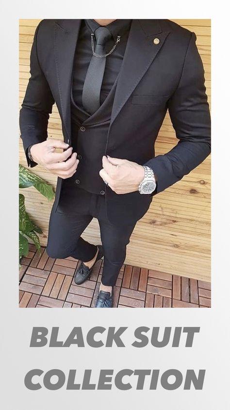 Giorgenti NY Black Suits