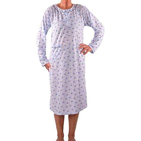 Damen Bis Seniorenmode24 Oma Senioren Größe 36 Nachthemd 60 PXZukwOiT