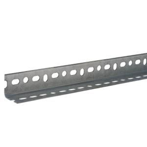 Everbilt 1 1 2 In X 14 Gauge X 48 In Zinc Plated Slotted Angle 802417 The Home Depot Zinc Plating Metal Rack Zinc