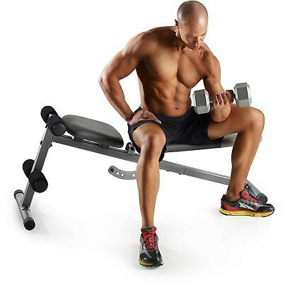 Details About Workout Bench Slant Weight Adjustable Exercise Fitness Golds Gym Xr 5 9 New In 2020 With Images Golds Gym Fitness Strength Training