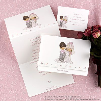 Precious Moments Wedding Invitations Wedding Ideas