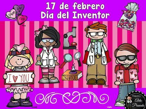Pin De Patricia Jimenez En Febre Escuela Inventores Febrero