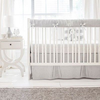 Gray Crib Bedding Sea Salt White Crib Bedding Grey Crib