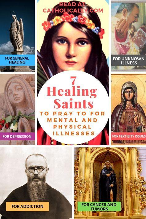 7 Healing Saints for Common Ailments