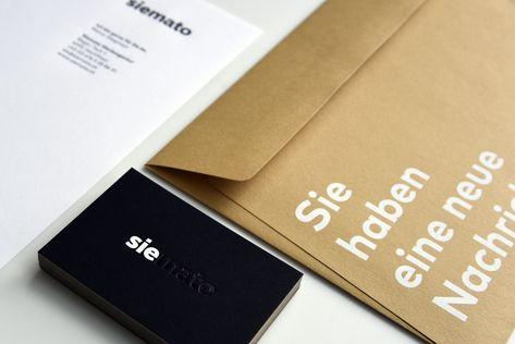 Geschäftsausstattung Für Siemato Drucktechnik Siebdruck