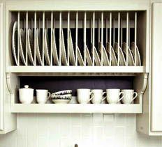 Build Your Own Plate Rack Kitchen Rack Design Kitchen Organisation Kitchen Projects