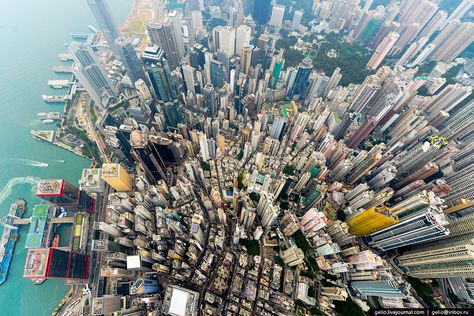 Andy Yeung A Photographer Based In Hong Kong Captures The - Incredible drone footage captures hong kong