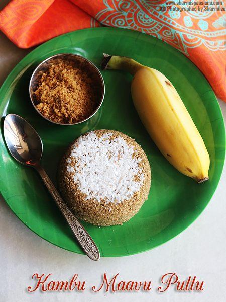 I made kambu maavu using whole kambu(Pearl Millet) last week so wanted to try…