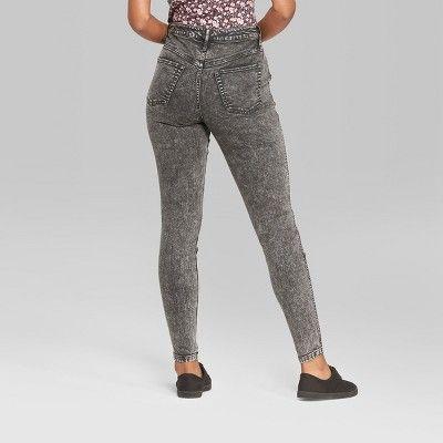 Wild Fable Women/'s Yoke Front High-Rise Skinny Jeans
