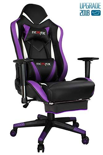 Ficmax Purple Gaming Chair High Back Ergonomic Computer C Https Www Amazon Com Dp B076cd272f Ref Cm Sw R Pi Dp U X Kj Gaming Chair Sport Chair Gamer Chair