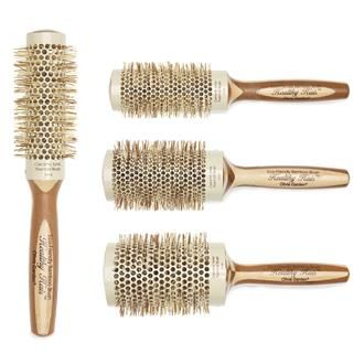 Olivia Garden Healthy Hair Round Thermal Brushes Bamboo Hair