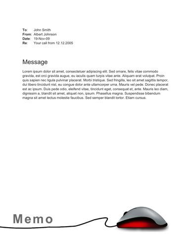 Flexible technology memo template Memo Template Free Pinterest - memo templates word