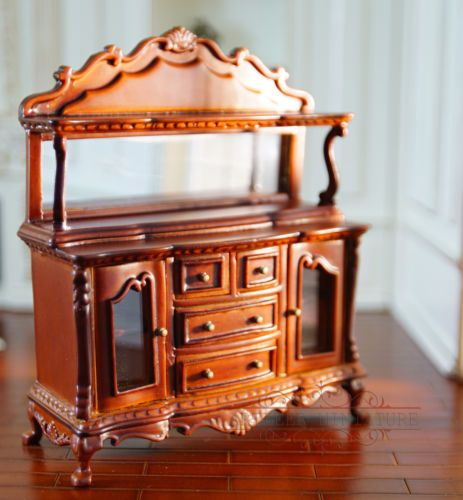 dollhouse miniature furniture Elegance display Side cabinet for 1//12 scale