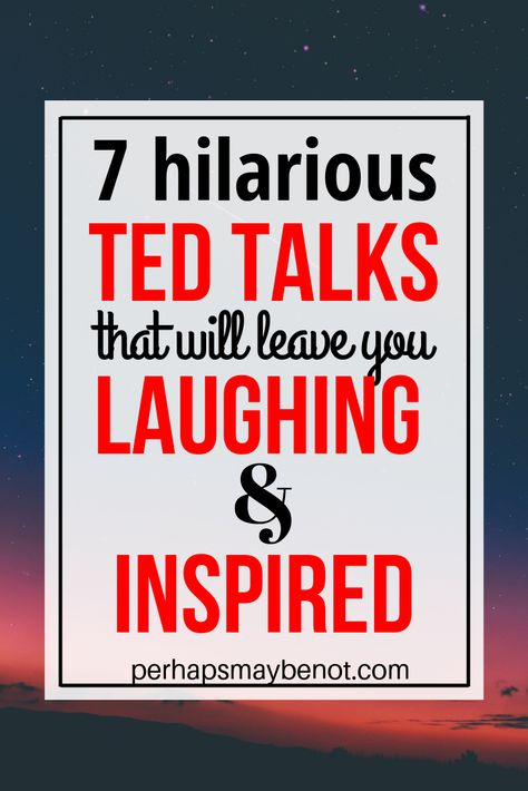 TED talks are a great way to find motivation! Whether you're looking for laughter, inspiration, or a bit of both, these TED talks will deliver. Business Motivational Quotes, Business Quotes, Inspirational Quotes, Positive Quotes, Success Quotes, Strong Quotes, Best Ted Talks, Most Inspiring Ted Talks, Ted Talks For Kids