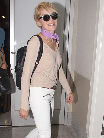 Sharon stone ass in jeans 7