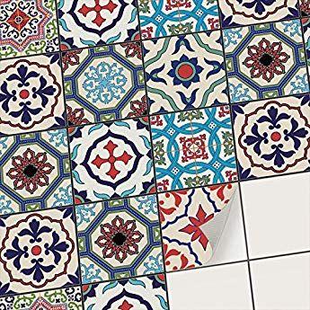 Creatisto Mosaik Fliesen Fliesenaufkleber Fliesenfolie Klebefolie Aufkleber Fur Wand Fliesen Klebefliesen Dek Fliesen Sticker Fliesenaufkleber Fliesenfolie