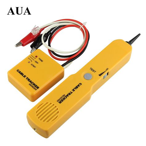 Portabl Rj11 Network Phone Telephone Cable Tester Toner Wire Tracker Tracer Diagnose Tone Line Finder Detector Ne Cable Tracker Telephone Line Telephone Cables
