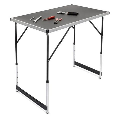 Campingtisch höhenverstellbar Tisch 100x60x73-94 Falttisch: Amazon.de: Sport & Freizeit