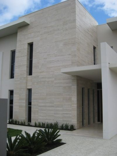Awe Inspiring Exterior Travertine Planks Materials In 2019 Stone Download Free Architecture Designs Viewormadebymaigaardcom