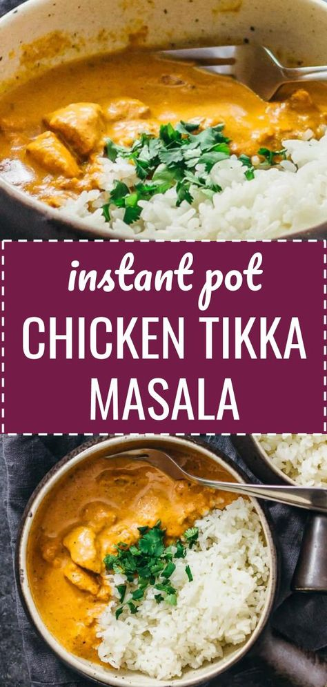 Get your Indian fix by making one of my most popular recipes, chicken tikka masala, now adapted for the Instant Pot pressure cooker.