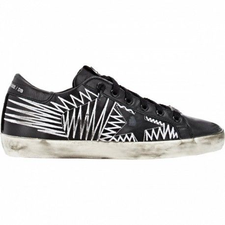 Golden Goose GGDB Db Low Couples Shoes Leather Black | Black