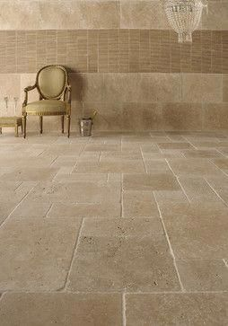 Travertine Flooring Is There A Faux I Like This For First Floor