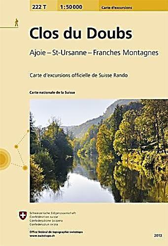 Landeskarte Der Schweiz Clos Du Doubs Karte Im Sinne Von