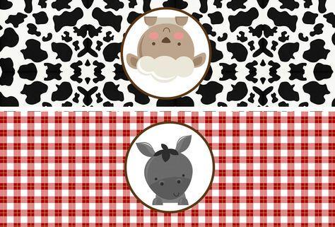 La Granja Bebés Etiquetas Para Bolsas De Golosinas Para Imprimir Gratis Fiesta De Animales De Granja Fiestas De Cumpleaños Del Gato Bolsas De Golosinas